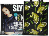 SLY Premium Collection Book 《付録》 フェザーペイズリートートバッグ