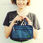 LESPORTSAC 日本上陸 HAPPY 25th ANNIVERSARY! 2013 SPRING/SUMMER style3 レイクピンドット 《付録》 便利すぎるバッグ in バッグ