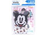 steady. (ステディ) 2021年 5月号特別号 《付録》 ミッキーマウスのフェイス形収納エコバッグ