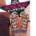 GISELe (ジゼル) 2013年 06月号 《付録》 ROSE BUD ビーチサンダル