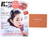 mini (ミニ) 2019年 11月号 《付録》 ミルクフェド特製大型ミラー付き!16色メイクパレット