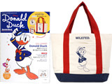 Disney Donald Duck Special Book 《付録》 MILKFED.特製 ポケット付きドナルドトート