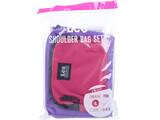 Lee SHOULDER BAG SET BOOK PINK/BLACK 《付録》 豪華2点セット ショルダーバッグ エコバッグ