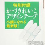 クロワッサン 2012年 12/10号 《付録》 かづきれいこデザインテープ