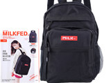 mini特別編集 MILKFED. SPECIAL BOOK Big Pocket Backpack #RED 《付録》 大容量バックパック
