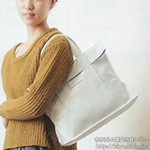 Another Edition 2012-13 Autumn/Winter 《付録》 ライトグレーの3WAYトート