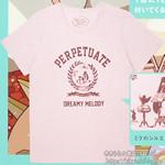 初音ミク×earth music&ecology Japan Label イラストスタイルブック PINK 《付録》 Tシャツ