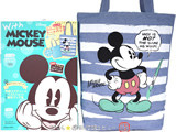 With MICKEY MOUSE: ミッキーマウス オフィシャルファンブック 《付録》 earth music&ecology リバーシブルトートバッグ
