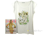 ELLE JAPON (エル・ジャポン) 2013年 05月号 《付録》 Paul & Joe Tシャツ
