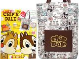 LOVE CHIP'N'DALE: チップとデールオフィシャルファンブック 《付録》 E hyphen world gallery ヴィンテージトートバッグ