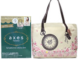 axes femme Spring&Summer collection 2013 《付録》 巻きバラ付きバラ柄ゴージャスバッグ