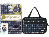 LESPORTSAC 日本上陸 HAPPY 25th ANNIVERSARY! 2013 SPRING/SUMMER style1 ハロー デイジー 《付録》 便利すぎるバッグ in バッグ