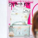 MORE (モア) 2013年 01月号 《付録》 ジェラート ピケ 卓上カレンダー、細長バニティ