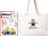 Minion meets MILKFED.トートバッグBOOK 《付録》 リバーシブルトートバッグ