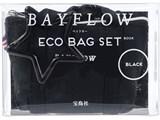 BAYFLOW ECO BAG SET BOOK BLACK 《付録》 1.エコバッグ 2.ミニミニトート 3.星カラビナ