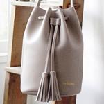 【速報】2017年9月号付録 ジャーナル スタンダード レリューム「上品なレザー調3way巾着バッグ」