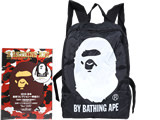 A BATHING APE 2015 AUTUMN & WINTER COLLECTION 《付録》 APE HEADバッグパック