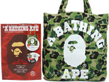 A BATHING APE(R) 2014 SUMMER COLLECTION 《付録》 BAPE(R)CAMO柄トートバッグ