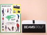BEAMS GOLF 10th ANNIVERSARY BOOK GLOVES & MASK CASE 《付録》 マスクも入るゴルフグローブケース