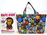 BAPE KIDS® by a bathing ape® 2013 SPRING/SUMMER COLLECTION 《付録》 2wayトートバッグ、キーホルダー