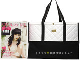 CECIL McBEE 2013 Autumn Collection WHITE 《付録》 ゴールドプレート付BIGサイズのトートバッグWHITE