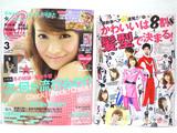 CanCam (キャンキャン) 2013年 03月号 《付録》 西光亭ポストカード4枚、別冊付録『「かわいい」は8割、髪型で決まる!』