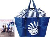 LISA LARSON リサ・ラーソンの陶器が好き! 《付録》 ルドルフの大容量 ショッピングトートバッグ