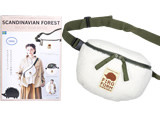 SCANDINAVIAN FOREST WAIST BAG BOOK 《付録》 ウエストバッグ