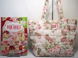 バラ柄キルティングBag【PINK HOUSE 30thアニバーサリーBOOK Rose e-MOOK】