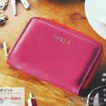 【速報】2012年 11月号付録 FURLA(フルラ)カード&コインパース