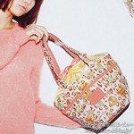 "HbG 2012 AUTUMN/WINTER ""Leopard Cameron"" 《付録》 巾着ジュリエットBAG"