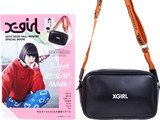 X-girl 2019-2020 FALL/WINTER SPECIAL BOOK 《付録》 レザー調 ロゴショルダーバッグ