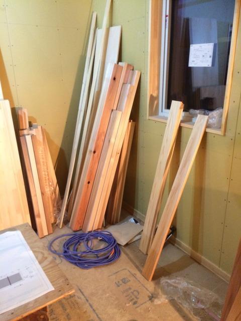手作り、手仕事、まで〜に大切に!2階部分はほぼ完了です。
