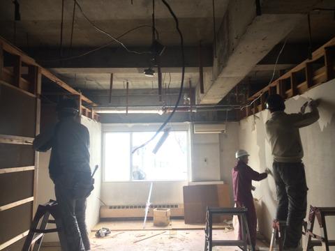 コンクリートの建物の改修工事もしますよ!