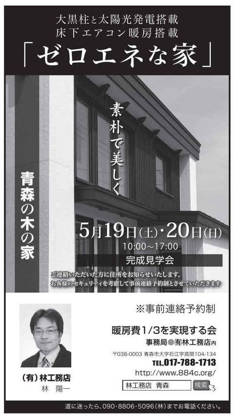 やっとこ新聞広告できました5月19日20日開催です