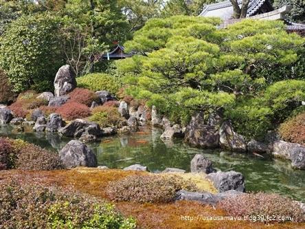 城南宮の庭園
