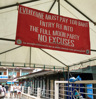 いざ世界3大フルムーンパーティーへ!� @タイ・パンガン島