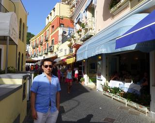 カプレーゼ発祥の地で食すカプレーゼ「Ristorante Da Isidoro」 @イタリア・カプリ