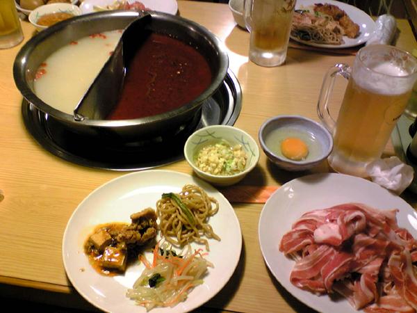 中華四川料理「火鍋」を赤坂で食す!