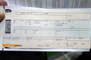 モンサンミッシェルの旅〜シャルルドゴール空港からレンヌへTGV〜