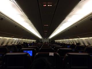 37回目のシンガポール--日本航空「JL035」便
