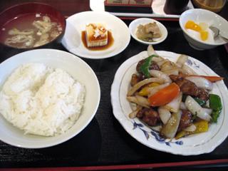 恵比寿「錦(にしき)」で中華料理ランチを食す!