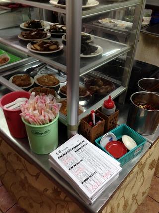 牛肉麺コンテスト3位に選ばれた「志明牛肉麵」 @龍江路・台北