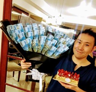 ジャカルタで5回目の誕生日、40歳を迎えました。
