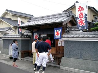 愛媛県伊予郡松前町「うさぎや」のかき氷を食す!