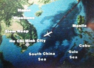 5回目のホーチミン--日本航空「JL759」便