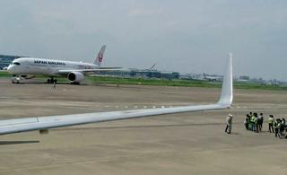 祝!JAL国内線 エアバスA350-900就航