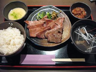 恵比寿・仙台名物牛たん焼き「宗太郎(むねたろう)」