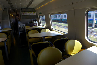 ローマからフィレンツェへ--Eurostar Italia「AU9416」便