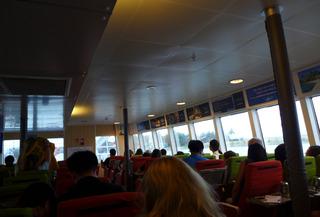 タラメラ・フェリーターミナからビンタン島へ向かう「ビンタンリゾートフェリー」